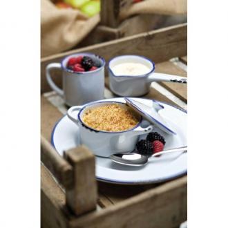 Тавичка порцелан за печене и сервиране 24 см, серия Avebury Blue