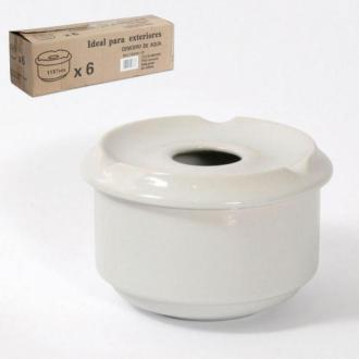 Ветроупорен пепелник порцелан диам. 11 см