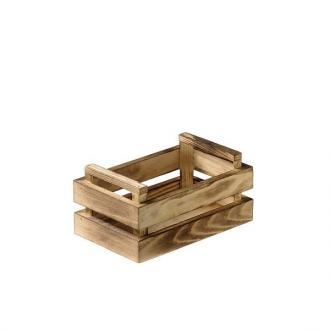 Дървена касетка за сервиране 13.5x8.5x6.7 см