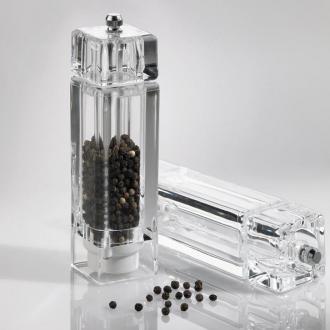 Мелничка за сол/пипер акрил 4x4x16,7 см