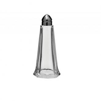 Пиперница стъкло с метална капачка