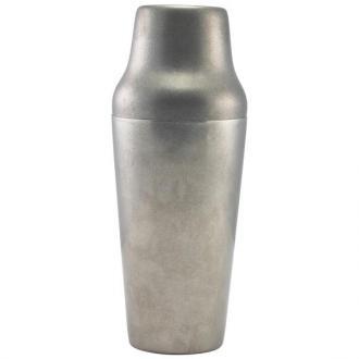 Шейкър инокс 700 мл Винтидж - две части