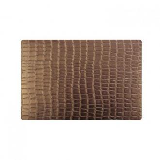 Подложка за хранене 30 x 45 cm Croco copper