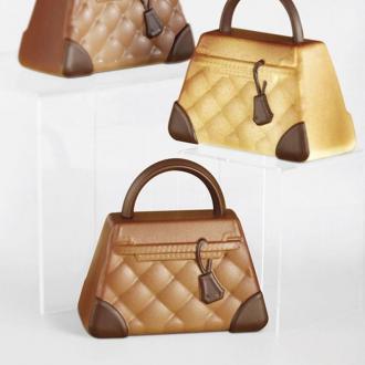 Форма калъп за малка шоколадова чантичка