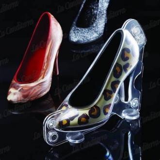 Форма калъп за шоколадова обувка