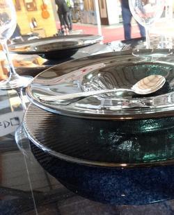 Стъклени чинии